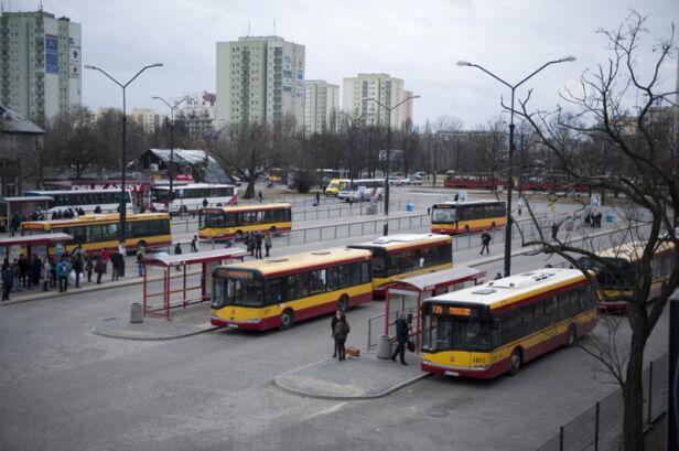Pętla przy stacji metra Wilanowska  ZTM