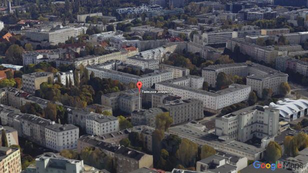 Kamienica przy Joteyki Google Earth