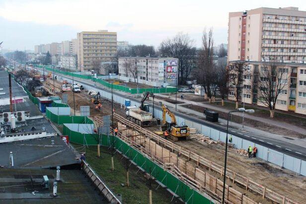Budowa metra na Woli UM Warszawa