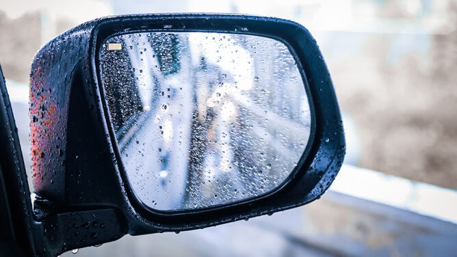 Gdzieniegdzie deszcz utrudni jazdę