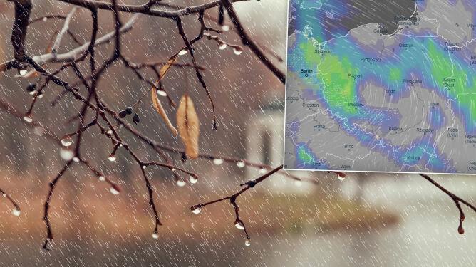 Pogoda na 5 dni: Święta, święta, i po śniegu. Będzie deszczowo i wietrznie