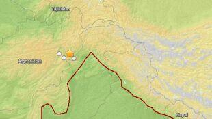 Trzęsienie ziemi w Afganistanie zakołysało budynkami aż w Delhi