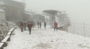 Relacja z zaśnieżonego Kasprowego Wierchu